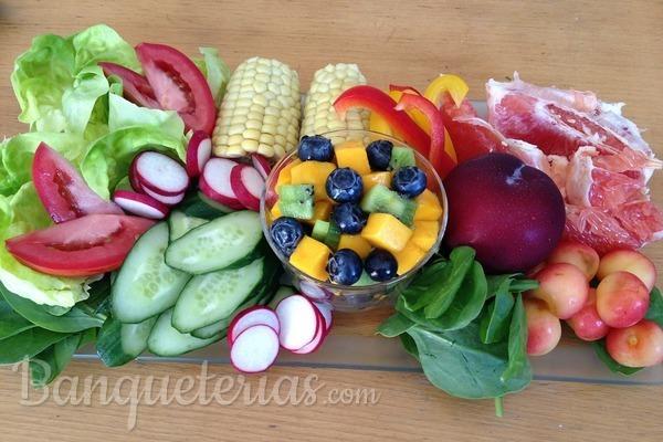 Planifica tu catering según las frutas y verduras de temporada