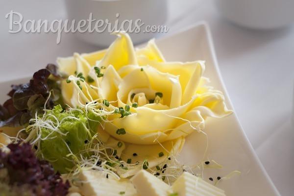 Ideas de banquete para una boda vegetariana