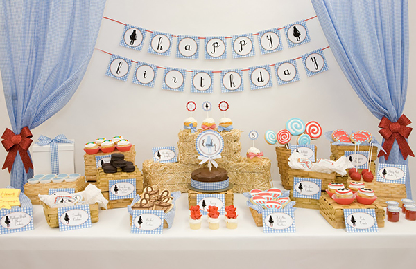 Deco chic y cupcakes las nuevas tendencias en fiestas - Fiesta infantil tematica ...