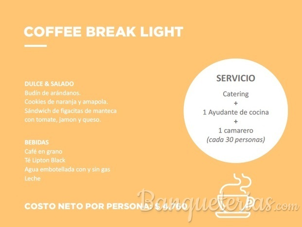 COFFEE BREAK LIGHT, PROMOCION TEMPORADA INVIERNO